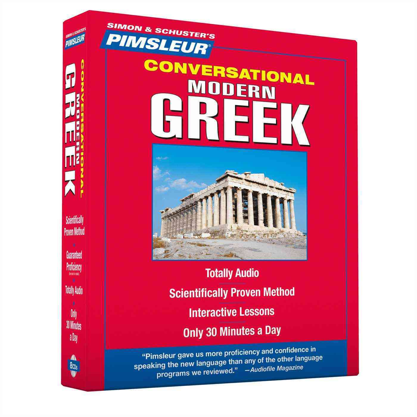 [CD] Pimsleur Conversational Modern Greek
